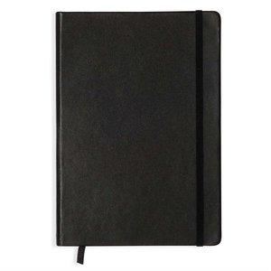 Billigtpyssel.se   Anteckningsbok A5 Hard Leather - Prickad