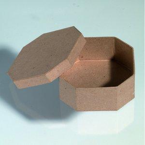 Billigtpyssel.se | Ask 11 x 11 x 5 cm - åttkantig
