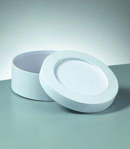 Billigtpyssel.se | Ask mosaik 15 x 6 cm - vita rund