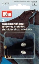 Billigtpyssel.se | Axelremshållare med säkerhetsnål svart 2 st