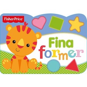 Billigtpyssel.se | Barnbok Fina former - Fisher-Price (Pekbok)