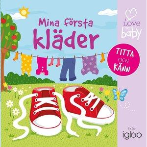 Billigtpyssel.se | Barnbok Mina första kläder