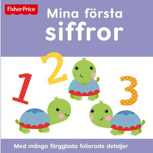 Billigtpyssel.se | Barnbok Mina första siffror - Fisher-Price (Pekbok)