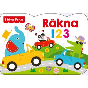 Billigtpyssel.se | Barnbok Räkna 123 - Fisher-Price (Pekbok)