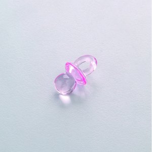 Billigtpyssel.se | Bebisaccessoarer akryl 20 x 12 mm - ljusrosa 10-pack Napp