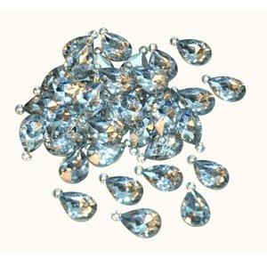 Billigtpyssel.se | Berlocker Diamanter - 50 st