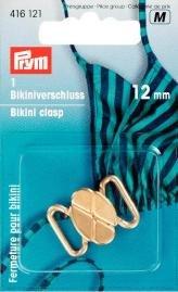 Billigtpyssel.se | Bikinispänne met. 12 mm guldfärg