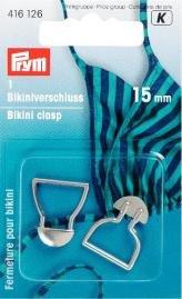 Billigtpyssel.se | Bikinispänne met. 15 mm silverfärg