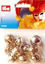 Billigtpyssel.se | Bjällror silverfärg 10 st