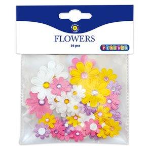 Billigtpyssel.se | Blommor självhäftande