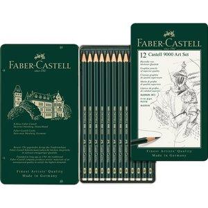 Billigtpyssel.se | Blyertset Faber-Castell 9000 Art