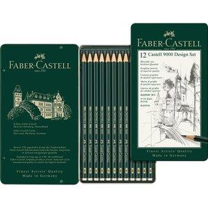Billigtpyssel.se | Blyertset Faber-Castell 9000 Design