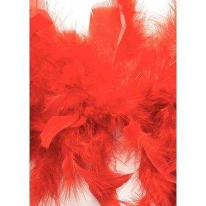 Billigtpyssel.se   Boafjädrar 45g röd 1