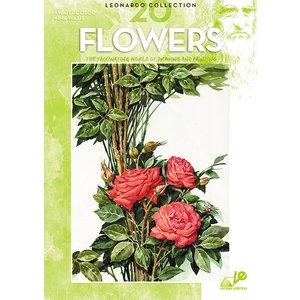 Billigtpyssel.se | Bok Litteratur Leonardo - Nr 20 Flowers