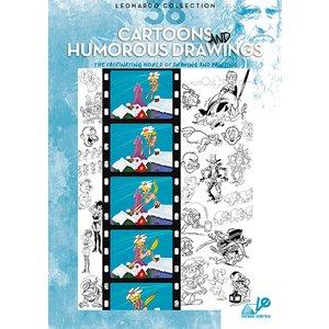 Billigtpyssel.se | Bok Litteratur Leonardo - Nr 38 Cartoons And Humorous Drawing