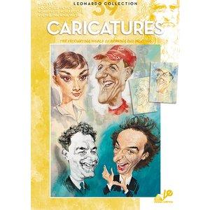 Billigtpyssel.se | Bok Litteratur Leonardo - Nr 39 Caricatures