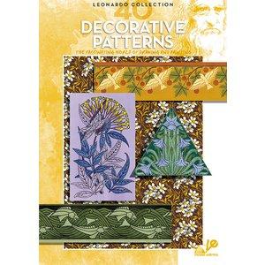 Billigtpyssel.se | Bok Litteratur Leonardo - Nr 40 Decorative Patterns