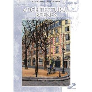 Billigtpyssel.se | Bok Litteratur Leonardo - Nr 43 Architectural Scenes