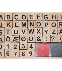 Billigtpyssel.se   Bokstavsstämplar / Sifferstämplar - 20x20 mm