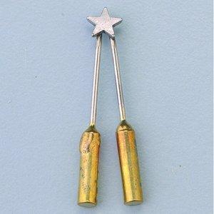 Billigtpyssel.se   Brännmärkningsöglor - 1 st. stjärna / för 1840002 + 03