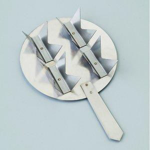 Billigtpyssel.se | Brännplatta med handtag ø 106 mm - för små delar