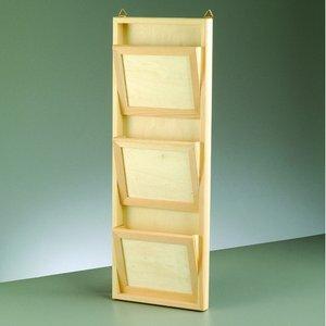 Billigtpyssel.se | Brevhållare 18 x 4 x 50 cm - obehandlat