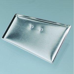 Billigtpyssel.se | Brosch för mosaik 40 x 24 x 34 mm - försilvrad trapetsoid