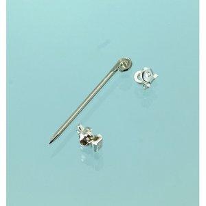 Billigtpyssel.se | Broschnål 20 mm - 925 silver 1 st. 925 / 3 delar