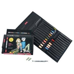 Billigtpyssel.se | Copic Ciao Väska - 12 pennor - Manga Friend