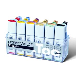 Billigtpyssel.se | Copic Wide set B (med refill)