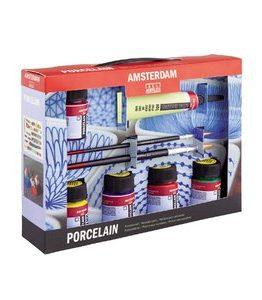 Billigtpyssel.se | Deco Portslinfärg Amsterdam 16 ml - Målarset