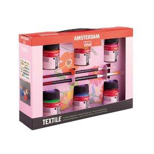 Billigtpyssel.se   Deco Textilfärg Amsterdam - Målarset