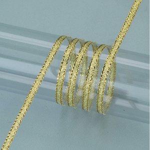 Billigtpyssel.se   Dekorband guld 3 mm - 50 meter - guld