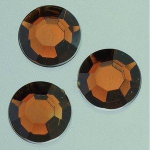 Billigtpyssel.se | Dekorsten akryl facetterad - brun