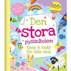 Billigtpyssel.se | Den stora pysselboken - knep & knåp för alla små