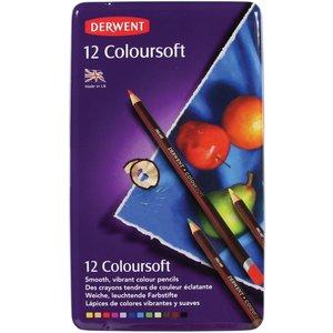 Billigtpyssel.se | Derwent Colorsoft - 12 Pennor