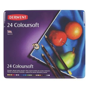 Billigtpyssel.se | Derwent Colorsoft - 24 Pennor