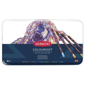 Billigtpyssel.se   Derwent Colorsoft - 36 Pennor