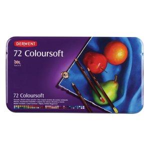 Billigtpyssel.se   Derwent Colorsoft - 72 Pennor