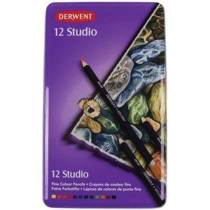 Billigtpyssel.se | Derwent Studio - 12 Pennor