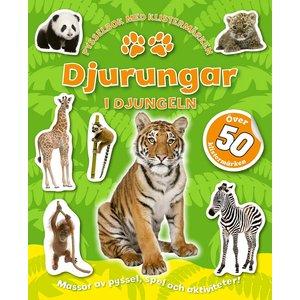 Billigtpyssel.se | Djurungar: I djungeln - med klistermärken