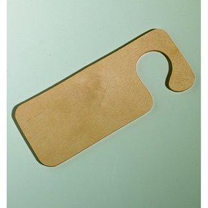Billigtpyssel.se | Dorrhängare trä mdf 80 x 200 / 4 mm - obehandlat