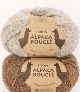 Billigtpyssel.se | Drops Alpaca Bouclé garn - 50g