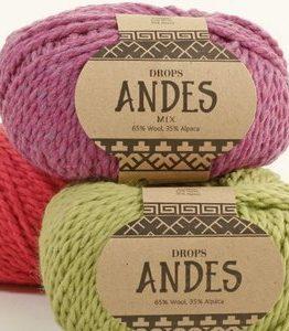 Billigtpyssel.se | Drops Andes garn - 100g