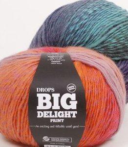 Billigtpyssel.se | Drops Big Delight garn - 100g