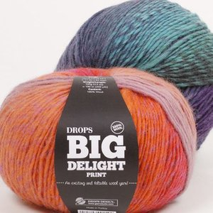 Billigtpyssel.se | Drops Big Delight garn - 100g