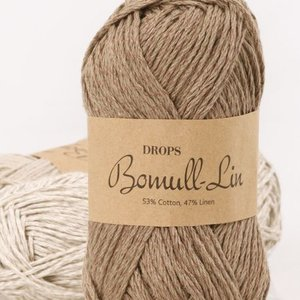 Billigtpyssel.se | Drops Bomull-lin garn - 50g