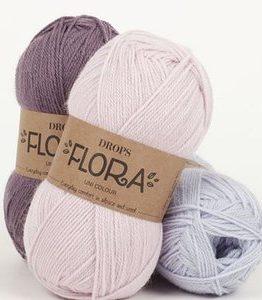 Billigtpyssel.se | Drops Flora garn - 50g