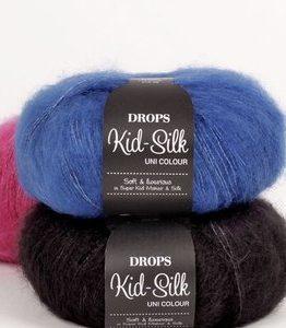 Billigtpyssel.se | Drops Kid-Silk garn - 25g