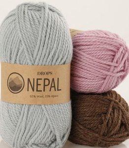 Billigtpyssel.se | Drops Nepal garn - 50g